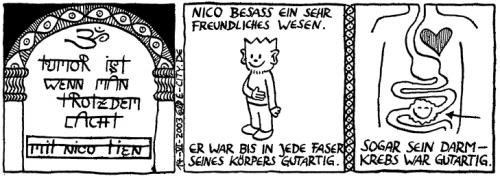Cartoon: Der Kränkling (medium) by weltalf tagged hänflinge,