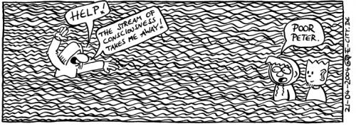Cartoon: Stream of Consciousness (medium) by weltalf tagged hänflinge