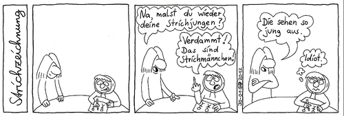 Strichzeichnung By Weltalf Media Culture Cartoon Toonpool