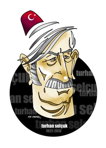 Cartoon: GRAND MASTER TURHAN SELCUK (medium) by donquichotte tagged abdulcanbaz