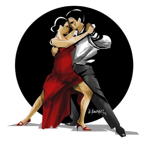 dating a tango dancer cartoon