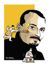 Cartoon: -HICABI DEMIRCI- PORTRAIT (small) by donquichotte tagged hico