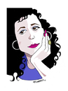Cartoon: -MENEKSE CAM- PORTRAIT (small) by donquichotte tagged mcam