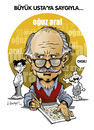 Cartoon: -OGUZ ARAL- PORTRAIT (small) by donquichotte tagged ogz