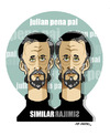 Cartoon: JULIAN PENA PAI PORTRAIT (small) by donquichotte tagged jpp