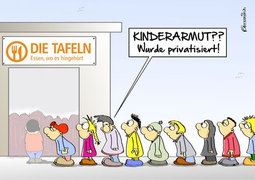 Cartoon: privatisierte Kinderarmut (medium) by Marcus Gottfried tagged kinderarmut,reich,arm,kinder,jugendliche,soziale,schicht,prekariat,prekär,unterschicht,armut,reichtum,schere,tafel,essensausgabe,reste,armenspeisung,freunde,marcus,gottfried,cartoon,karikatur,kinderarmut,reich,arm,kinder,jugendliche,soziale,schicht,prekariat,prekär,unterschicht,armut,reichtum,schere,tafel,essensausgabe,reste,armenspeisung,freunde,marcus,gottfried,cartoon,karikatur