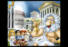 Cartoon: Board game design - detail (small) by Nicoleta Ionescu tagged board,game,ancient,rome