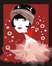 Cartoon: Louise Brooks (small) by Nicoleta Ionescu tagged louise,brooks