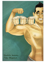 Cartoon: Manhood Stereotypes (small) by Nicoleta Ionescu tagged tabu,magazine,advertising,beer,men