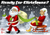 Cartoon: Marry Christmas! (small) by Nicoleta Ionescu tagged marry,christmas