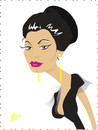 Cartoon: Sophia Loren (small) by Nicoleta Ionescu tagged sophia,loren,italy,actress,beauty,oscar,academy,award