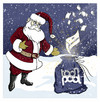 Cartoon: Toonpool Santa (small) by Nicoleta Ionescu tagged christmas,santa,toonpool,joy
