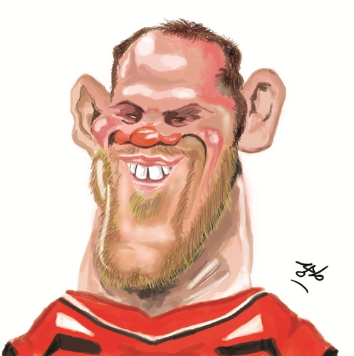 Wayne Rooney Caricature Cartoon wayne rooney medium by Majid h atta tagged rooney