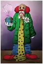 Cartoon: ... (small) by Dirk Berrens tagged der,clown,tragödie,drama,erde,heiße,luft,piel,vorbei,the,tragedy,grounds,hot,air,game,past,dirk,berrens