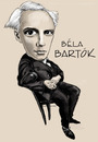 Cartoon: Bela Bartok (small) by frostyhut tagged bartok,classical,music,contemporary,hungarian,composer