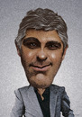 Cartoon: Clooney (small) by Kossak tagged george,clooney,actor,moviestar,star,hollywood,coffee,man,womanizer,film,filmstar,schauspieler
