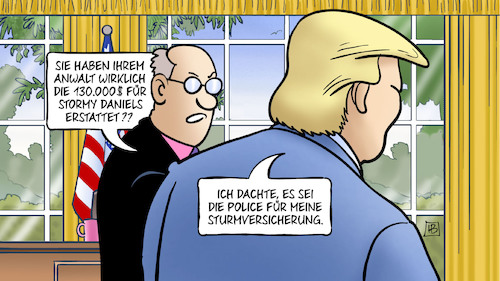 Cartoon: 130.000 für Stormy (medium) by Harm Bengen tagged trump,anwalt,cohen,130000,stormy,daniels,schweigegeld,pornodarstellerin,affäre,oval,office,police,sturmversicherung,harm,bengen,cartoon,karikatur,trump,anwalt,cohen,130000,stormy,daniels,schweigegeld,pornodarstellerin,affäre,oval,office,police,sturmversicherung,harm,bengen,cartoon,karikatur