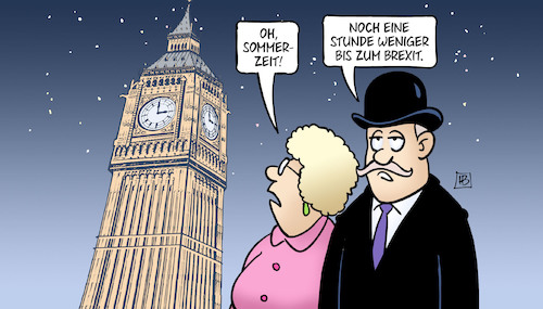 Cartoon: Brexit-Summertime (medium) by Harm Bengen tagged big,ben,sommerzeit,summertime,uhrzeitumstellung,parlament,brexit,uk,gb,europa,eu,austritt,chaos,abstimmung,harm,bengen,cartoon,karikatur,big,ben,sommerzeit,summertime,uhrzeitumstellung,parlament,brexit,uk,gb,europa,eu,austritt,chaos,abstimmung,harm,bengen,cartoon,karikatur