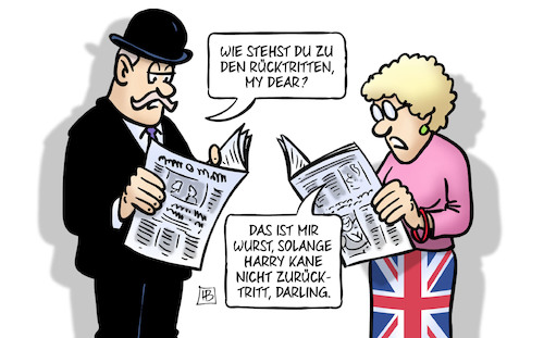 Cartoon: Brexit und WM (medium) by Harm Bengen tagged rücktritte,wurst,harry,kane,fussball,wm,zeitung,brexit,minister,davis,johnson,may,uk,gb,england,harm,bengen,cartoon,karikatur,rücktritte,wurst,harry,kane,fussball,wm,zeitung,brexit,minister,davis,johnson,may,uk,gb,england,harm,bengen,cartoon,karikatur