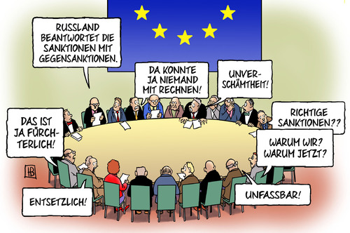 Cartoon: Gegensanktionen (medium) by Harm Bengen tagged wirtschaftssanktionen,russland,ukrainie,handel,sanktionen,eu,europa,harm,bengen,cartoon,karikatur,wirtschaftssanktionen,russland,ukrainie,handel,sanktionen,eu,europa,harm,bengen,cartoon,karikatur