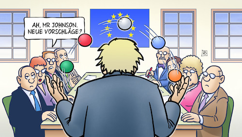 Cartoon: Johnson-Jonglage (medium) by Harm Bengen tagged boris,johnson,jonglage,jonglieren,vorschläge,brexit,backstop,uk,gb,europa,harm,bengen,cartoon,karikatur,boris,johnson,jonglage,jonglieren,vorschläge,brexit,backstop,uk,gb,europa,harm,bengen,cartoon,karikatur