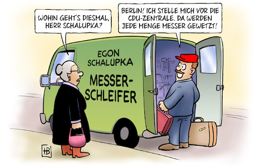 Messer Wetzen By Harm Bengen Politics Cartoon Toonpool