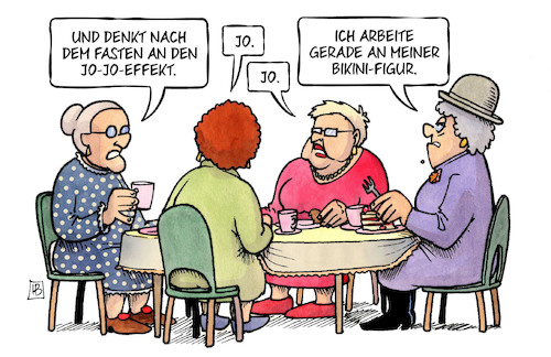 Cartoon: Nach dem Fasten (medium) by Harm Bengen tagged fasten,jojo,effekt,ostern,essen,bikini,figur,susemil,harm,bengen,cartoon,karikatur,fasten,jojo,effekt,ostern,essen,bikini,figur,susemil,harm,bengen,cartoon,karikatur