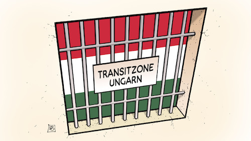 Transitzone Ungarn