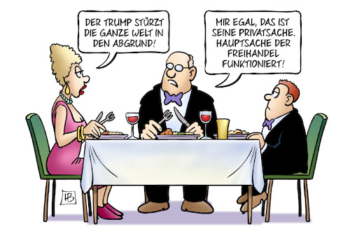 Cartoon: Trump und Freihandel (medium) by Harm Bengen tagged trump,freihandel,kapitalisten,kapitalismus,essen,welt,abgrund,privatsache,usa,harm,bengen,cartoon,karikatur,trump,freihandel,kapitalisten,kapitalismus,essen,welt,abgrund,privatsache,usa,harm,bengen,cartoon,karikatur