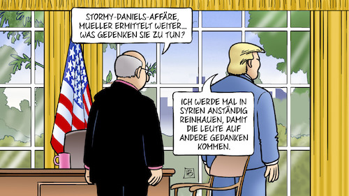 Cartoon: Trump und Syrien (medium) by Harm Bengen tagged trump,syrien,usa,russland,krieg,stormy,daniels,affäre,sonderermittler,mueller,ablenkung,oval,office,harm,bengen,cartoon,karikatur,trump,syrien,usa,russland,krieg,stormy,daniels,affäre,sonderermittler,mueller,ablenkung,oval,office,harm,bengen,cartoon,karikatur