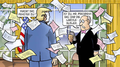 Trump und Whistleblower