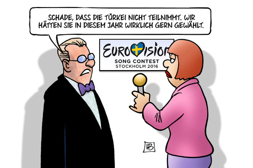 Cartoon: Türkei und ESC (medium) by Harm Bengen tagged türkei,esc,eurovision,song,contest,musik,flüchtlinge,deal,eu,europa,visafreiheit,erdogan,harm,bengen,cartoon,karikatur,türkei,esc,eurovision,song,contest,musik,flüchtlinge,deal,eu,europa,visafreiheit,erdogan,harm,bengen,cartoon,karikatur
