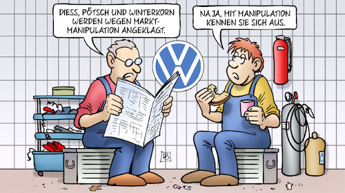 VW-Marktmanipulation