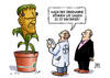 Cartoon: Bayer-Monsanto (small) by Harm Bengen tagged übernahme,börse,aktien,bayer,monsanto,gift,genverändert,saatgut,mais,frankenstein,umwelt,harm,bengen,cartoon,karikatur