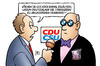 Cartoon: BMW-Spende (small) by Harm Bengen tagged deutschland,eu,abgasnormen,lobbyismus,lobby,bestechung,korruption,parteispenden,quandt,kladden,bmw,auto,kfz,harm,bengen,cartoon,karikatur