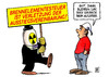 Cartoon: Brennelementesteuer (small) by Harm Bengen tagged brennelementesteuer,sparpaket,kernkraft,atomkraft,atomkraftwerke,laufzeiten,ausstieg,vereinbarung,erpressung,vattenfall,eon,rew,enbw,demonstration,michel