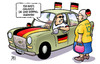 Cartoon: Doppelagentin (small) by Harm Bengen tagged doppelagentin,doppelagent,bnd,nsa,cia,spionage,fussball,wm,neymar,brasilien,deutschland,usa,harm,bengen,cartoon,karikatur