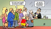 Cartoon: EBA-Bankenstresstest (small) by Harm Bengen tagged bankenstresstest,bank,stress,warten,schlange,eba,harm,bengen,cartoon,karikatur