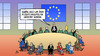 Cartoon: EU-Fluechtlingspolitik (small) by Harm Bengen tagged fluechtlingspolitik,eu,europa,abschiebung,politiker,asyl,fluechtlinge,erstaufnahme,unterbringung,harm,bengen,cartoon,karikatur