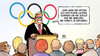 Cartoon: Olympia-Bewerbung (small) by Harm Bengen tagged olympia,bewerbung,hamburg,pressekonferenz,sport,sportbund,berlin,kosten,ruder,schuld,griechen,erfinden,harm,bengen,cartoon,karikatur