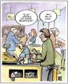 Cartoon: Treuepunkte (small) by Harm Bengen tagged treuepunkte,akne,kasse,supermarkt,