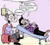 Cartoon: Hallucination (small) by cizofreni tagged hallunication,halusinasyon,sanri,mad,deli,doktor,doctor