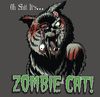 Cartoon: Zombie Cat (small) by esplesst tagged zombie,cat,funny,gory,horror