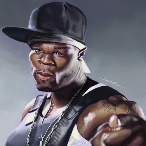 50 cent in cartoon