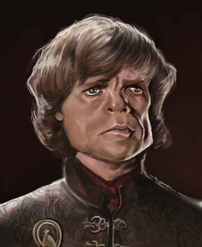 Cartoon: Lannister (medium) by jonesmac2006 tagged caricature,thrones,of,game