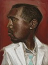 Cartoon: Kanye (small) by jonesmac2006 tagged caricature