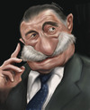 Cartoon: Mario Benedetti (small) by jonesmac2006 tagged mario,benedetti,caricature