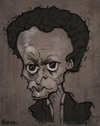 Cartoon: Miles Davis caricature (small) by jonesmac2006 tagged miles,davis,caricature
