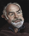 Cartoon: Sean Connery caricature (small) by jonesmac2006 tagged sean,connery,caricature