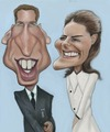 Cartoon: The royal couple (small) by jonesmac2006 tagged royal,wedding,prince,kate,middleton,william